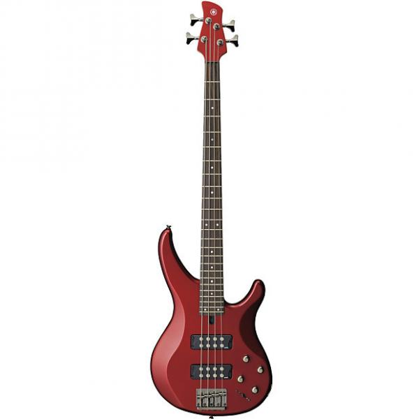 Custom Yamaha TRBX304 Candy Apple Red 4-String Electric Bass Guitar #1 image