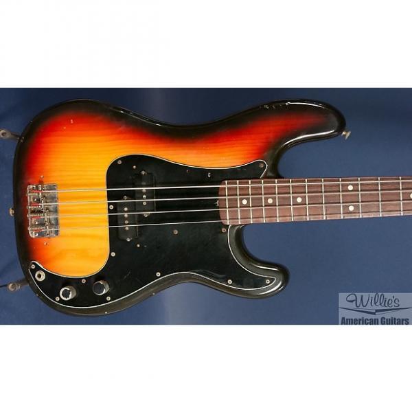 Custom Vintage 1978 Fender Precision Bass - sunburst w/ rosewood board #1 image