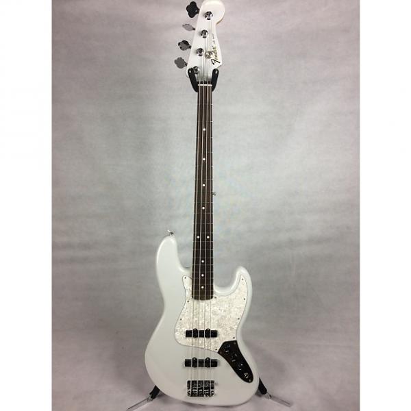 Custom Fender Special Edition White Opal Standard Jazz Bass 2016 White Opal #1 image