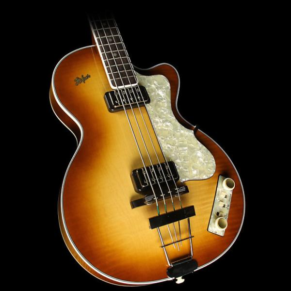 Custom Hofner Limited Edition Club Bass Electric Bass Sunburst #1 image