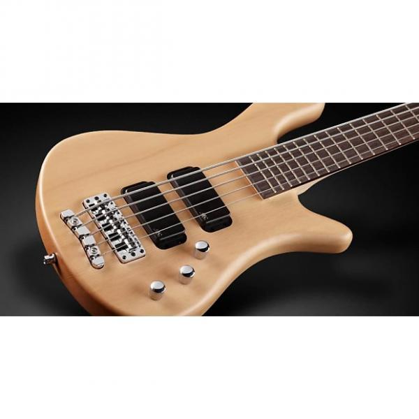 Custom Warwick RockBass RB Streamer 5-String Passive Electric Bass Guitar Natural Satin #1 image