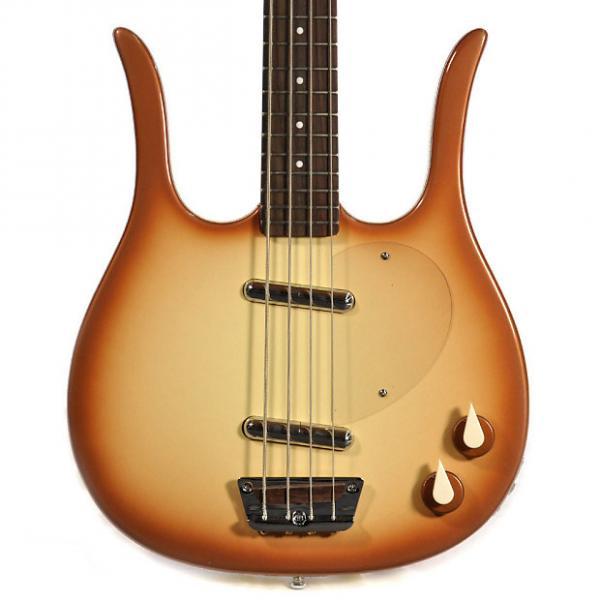 Custom Danelectro 58' Longhorn Bass Guitar  MODEL: DLHBASS-CPR #1 image