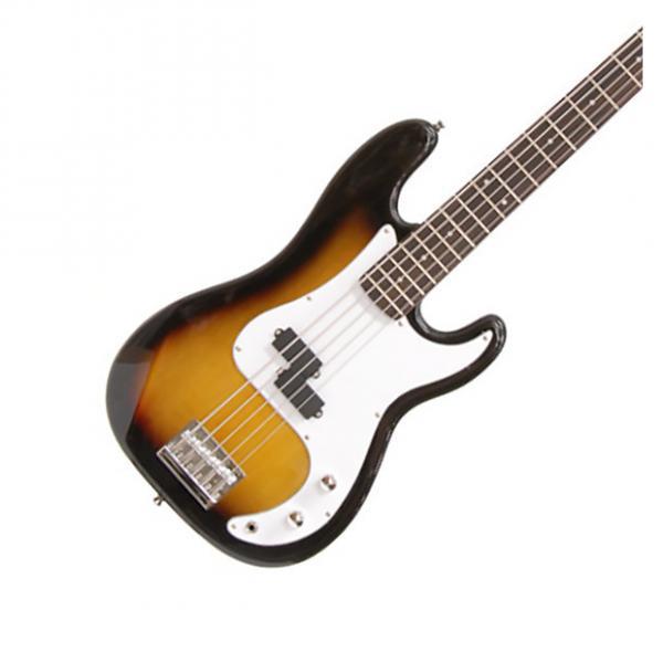 Custom Crestwood 5 string Electric Bass Guitar Tobacco Sunburst MODEL:PB975T  - free shipping #1 image