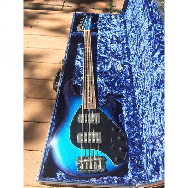 Custom Ernie Ball Stingray5 2007 Blue Dawn LE #1 image