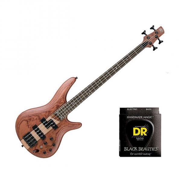 Custom Ibanez SR750 - Natural Flat w/2 Sets DR Strings BKB45 #1 image