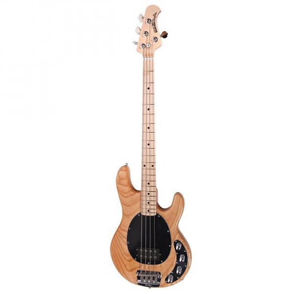 Custom Ernie Ball Music Man Stingray 4 Bass Guitar Natural with Hard Case #1 image