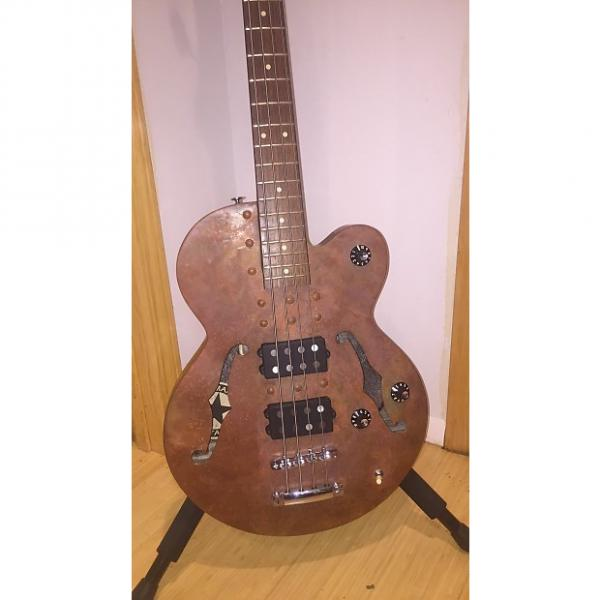 Custom Normandy Hollowbody Archtop 2014 Copper Plated Patina #1 image
