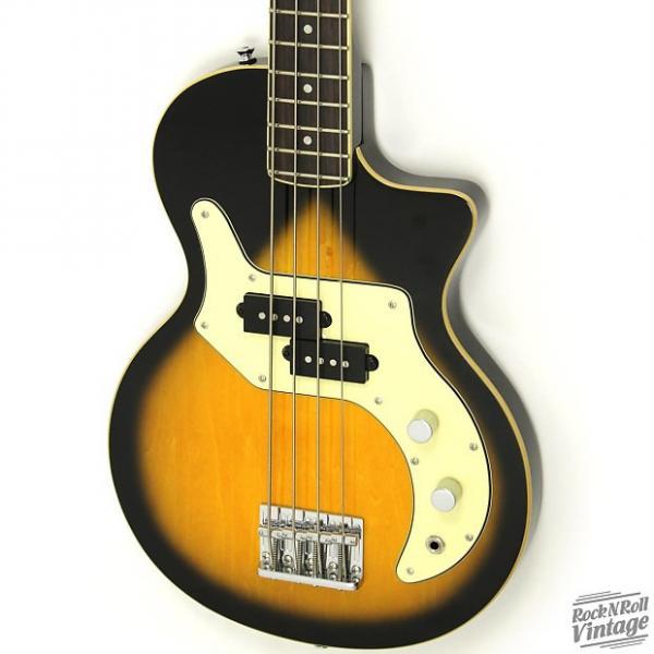 Custom Orange O-Bass Sunburst #1 image