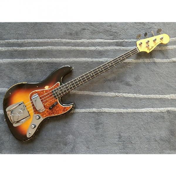Custom Fender Jazz Bass  1960 3-Tone Sunburst #1 image