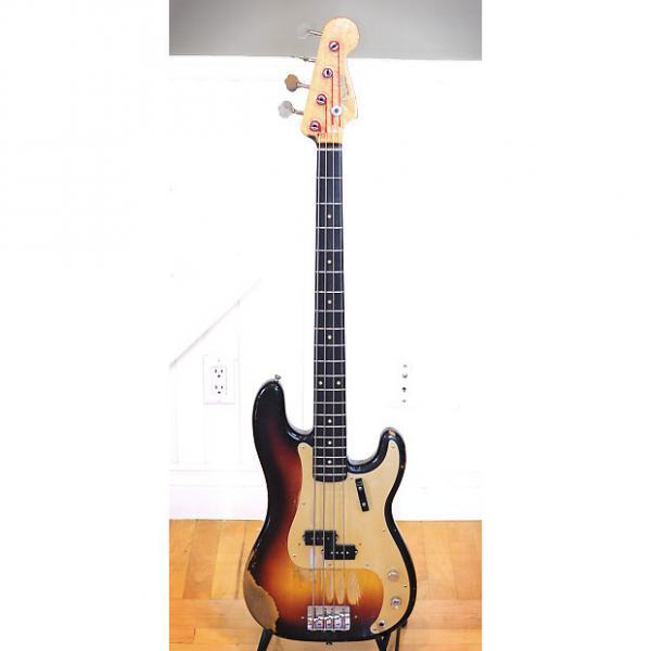Custom Fender Precision Bass :: 1959 :: Sunburst :: All Original :: Single Owner :: OHSC #1 image