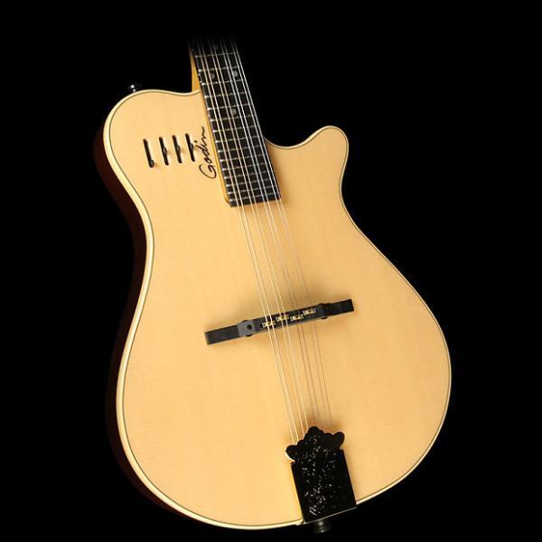 Custom Godin A8 Electric/Acoustic Mandolin Natural #1 image