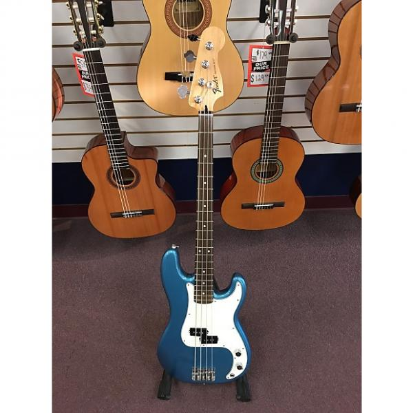 Custom Fender Standard Precision Bass Lake Placid Blue #1 image