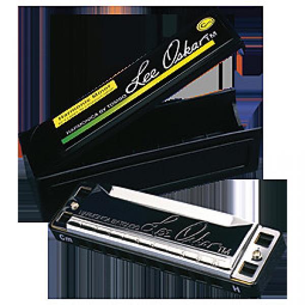 Custom Lee Oskar D Minor Harmonic 10 Hole Harmonica #1 image