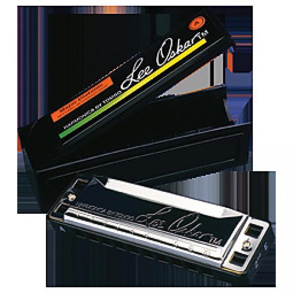 Custom Lee Oskar B Diatonic 10 Hole Harmonica #1 image