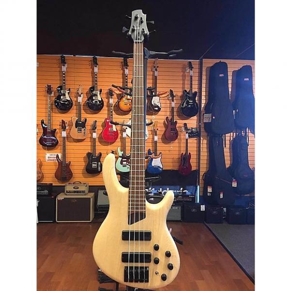 Custom Cort B4 Plus Artisian Series Natural Swamp Ash Bass Guitar #1 image