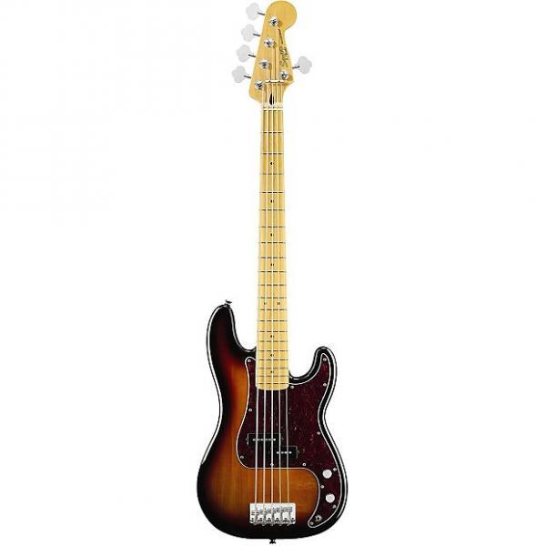 Custom Fender Vintage Modified Precision Bass V 5-String Electric Bass Guitar,  3-Color Sunburst #1 image