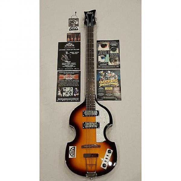 Custom Hofner Ignition Violin Special Edition Cavern Club Liverpool Bass - Sunburst w/Case #1 image
