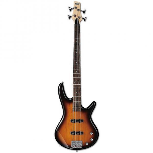 Custom Ibanez Gio Series 4 String Bass Guitar, Brown Sunburst #1 image