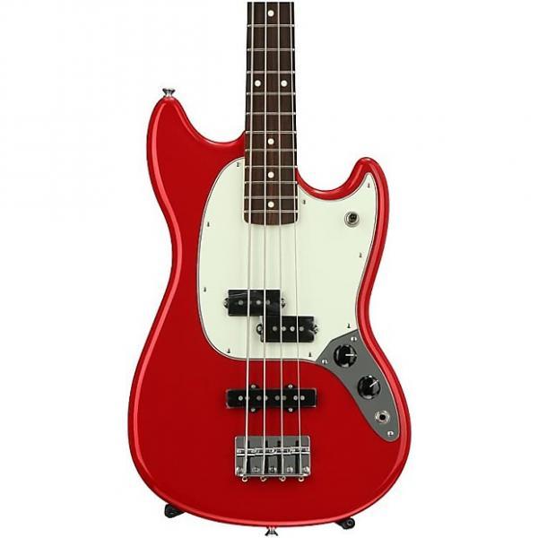 Custom Fender Mustang PJ Bass - Torino Red #1 image