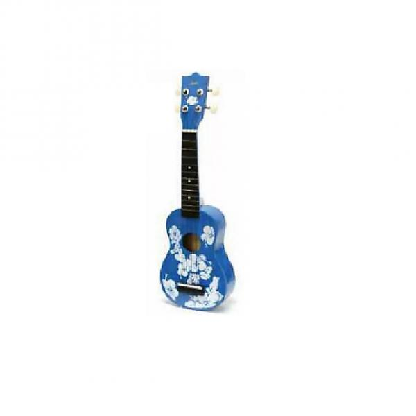 Custom Keiko UK38M Blue Soprano Ukulele #1 image