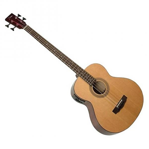 Custom Johnson Acoustic/electric bass with active 4 band EQ. Model: JG622E #1 image