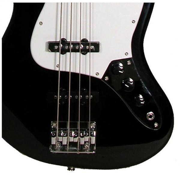 Custom Kona Double Cutaway Jazz Style 4-String Bass Guitar Model: Model: KEJBBK #1 image