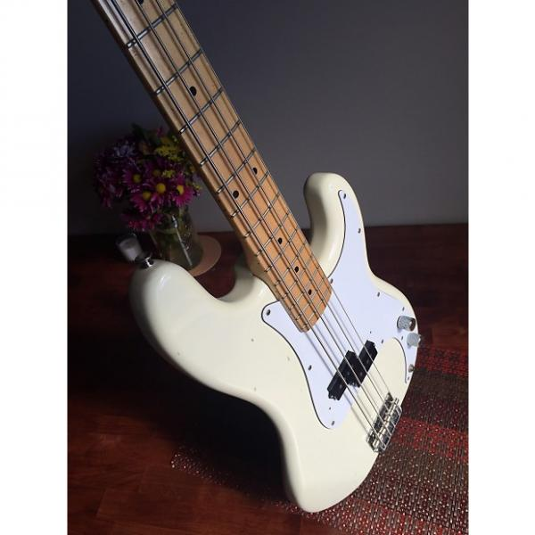 Custom Fender precision Bass mid 80s Off-white #1 image