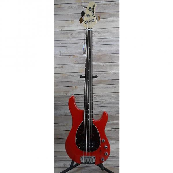 Custom Ernie Ball Music Man Sterling 4 H Chili Red #1 image
