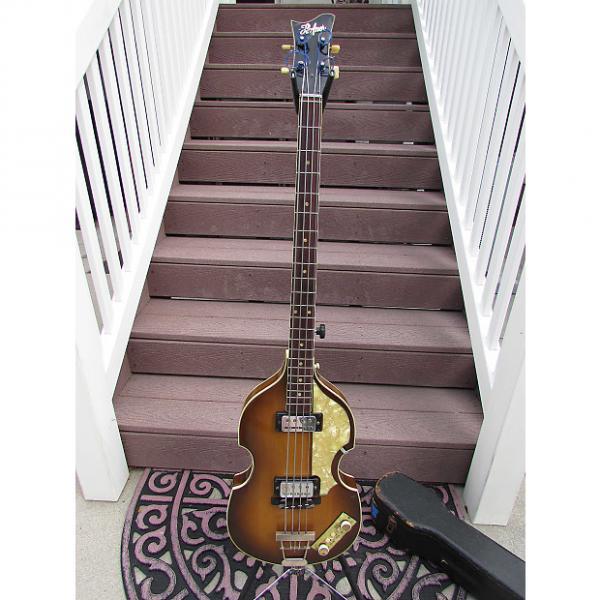 Custom Hofner BASS 500/1  1965 Brownburst #1 image