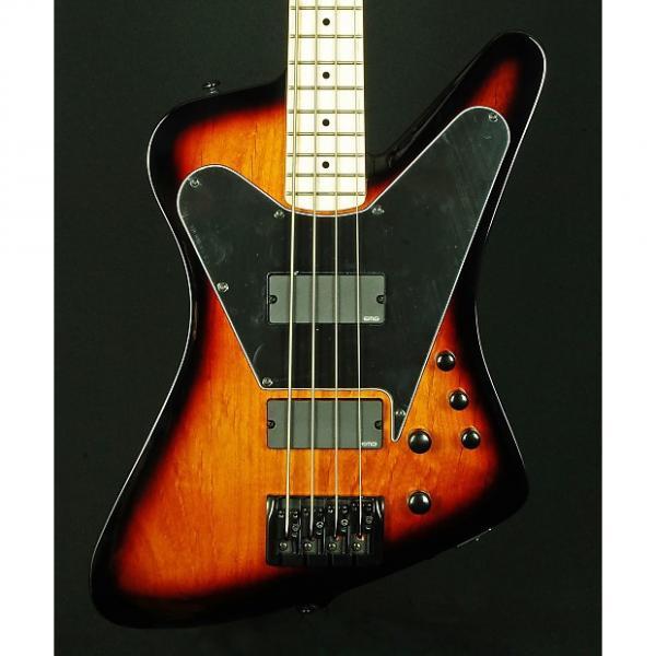 Custom New! Dean John Entwistle Hybrid Electric Bass - Transparent Brazilia Burst #1 image