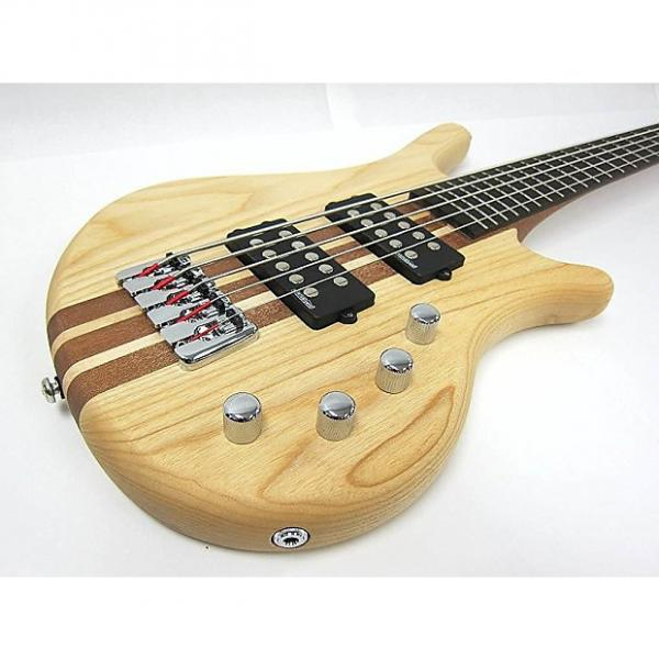Custom Kona Dreadnoought Spelli Trans Brown with Built-in Tuner, 5 string - Model: KWB5A #1 image