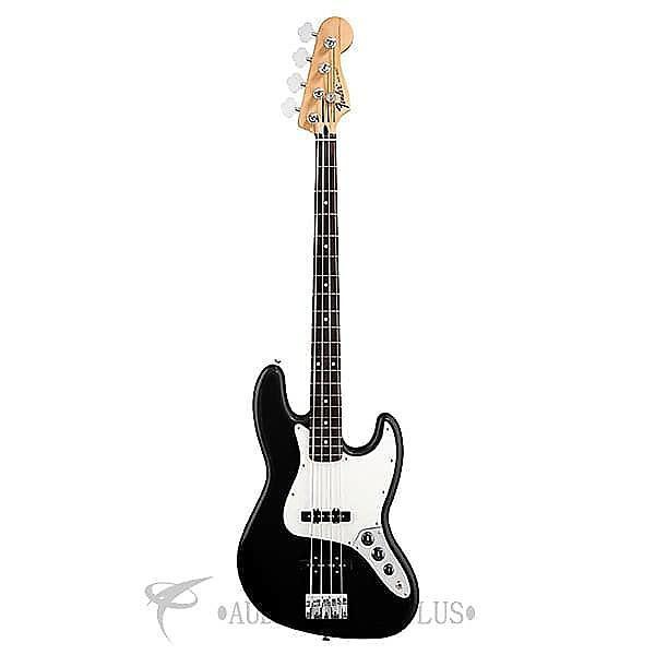 Custom Fender Standard Jazz Rosewood Fingerboard 4 Strings Electric Bass Guitar Black - 0146200506 #1 image
