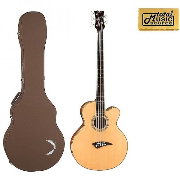 Custom Dean A/E Bass Cutaway 5 String Satin Finish with Case, EABC5 CASE #1 image