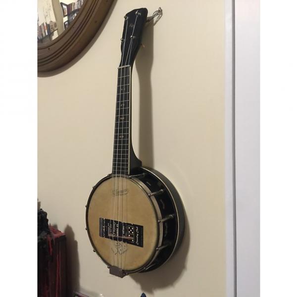 Custom J. R. Stewart Company Le Domino Banjo Ukelele 1920s Black #1 image