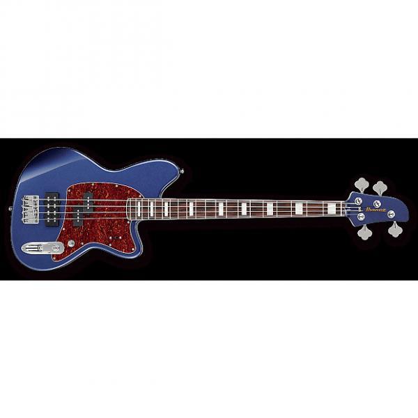 Custom Ibanez TMB300 Talman 300 Electric 4-String Maple Neck Bass Guitar Navy Metallic #1 image