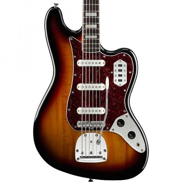 Custom Squier Vintage Modified Bass VI Three Tone Sunburst #1 image