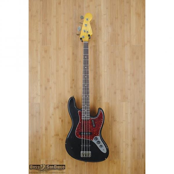 Custom Nash Guitars JB-63 Black 4 String Bass #1 image