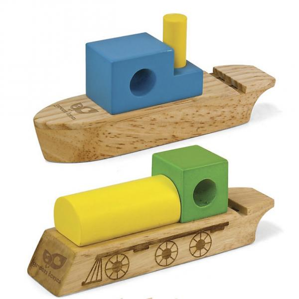 Custom Hohner Greentones Boat & Train Whistle Wholesale Lot of 6, Kids Musical Instruments #1 image
