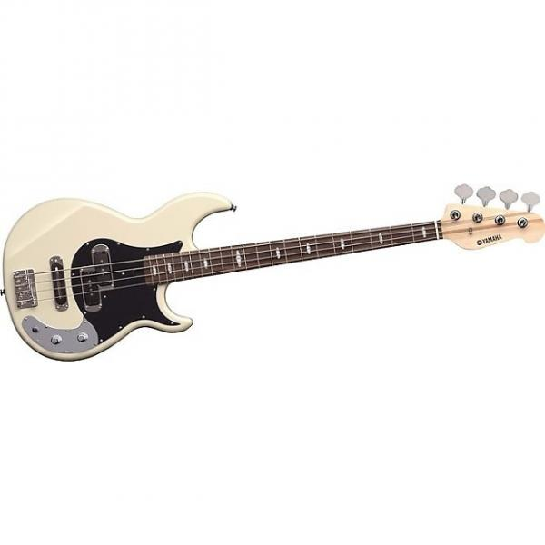 Custom Yamaha BB424X 4 String Bass in Vintage White Finish #1 image