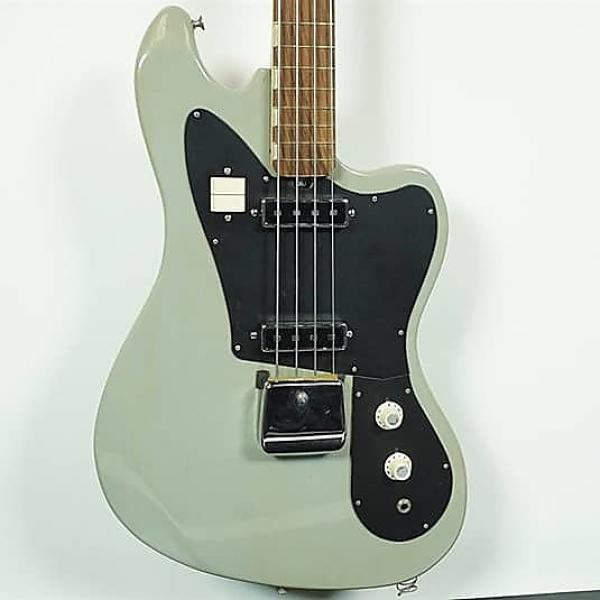 Custom Used Teisco EB 200 Bass Guitar Green #1 image