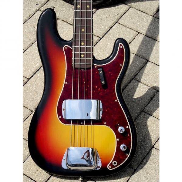 Custom Fender Precision Bass 1966 3 Tone Burst #1 image