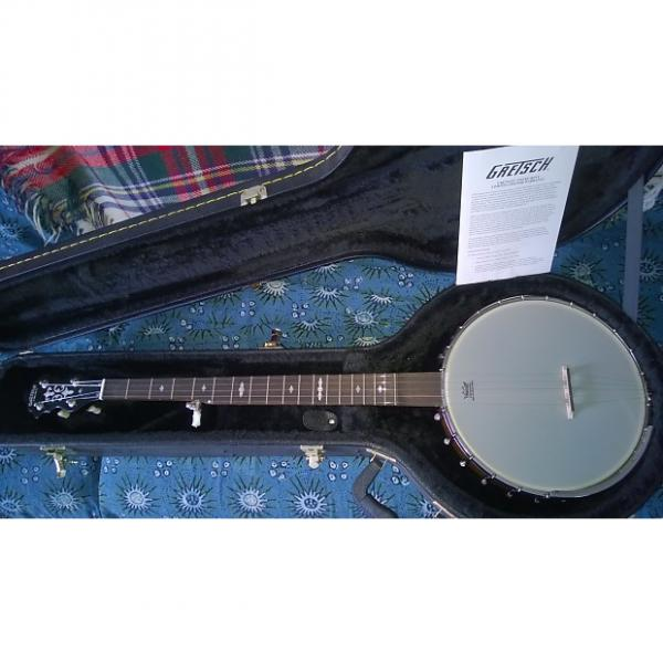 Custom Gretsch Guitars G9451 Dixie Deluxe 5-String Banjo Natural 2014 Natural - new/mint #1 image