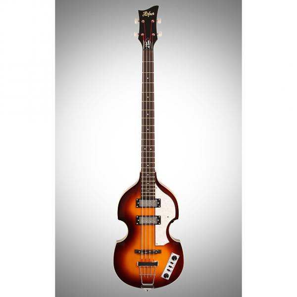 Custom Hofner  Ignition Hollowbody Cavern Electric Bass, Sunburst #1 image