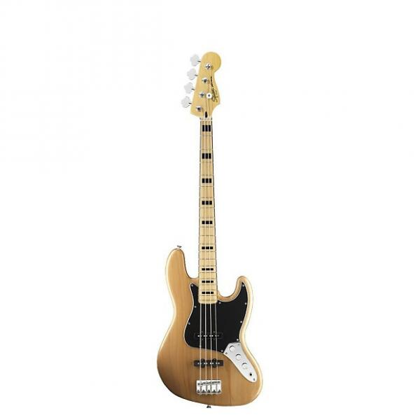 Custom Squier (Fender) t0306702521 Natural Vintage Modified Jazz Bass '70s #1 image