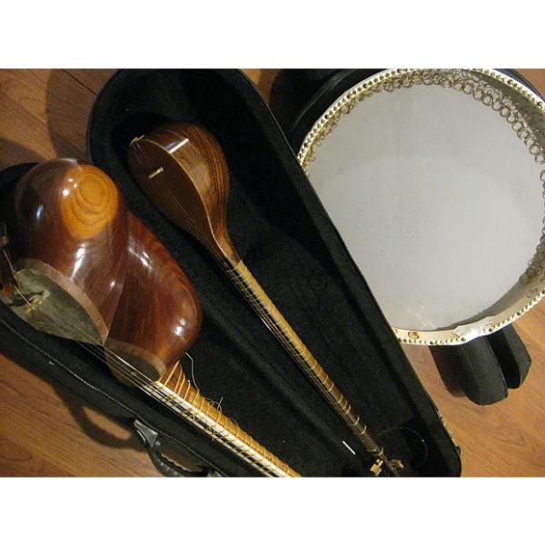 Custom New Custom Handmade Setar and Tar and Daf International Instruments Set Sell! #1 image