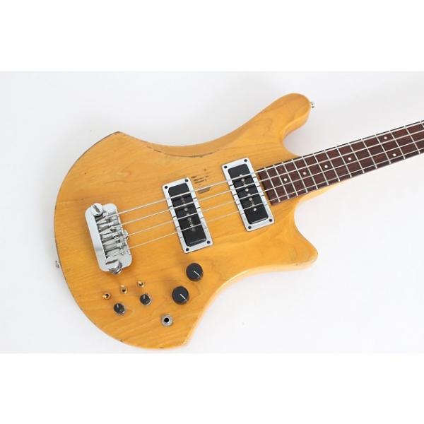 Custom 1981 Guild B402-A Natural Bass w/case - All original - Very rare! - #1 image