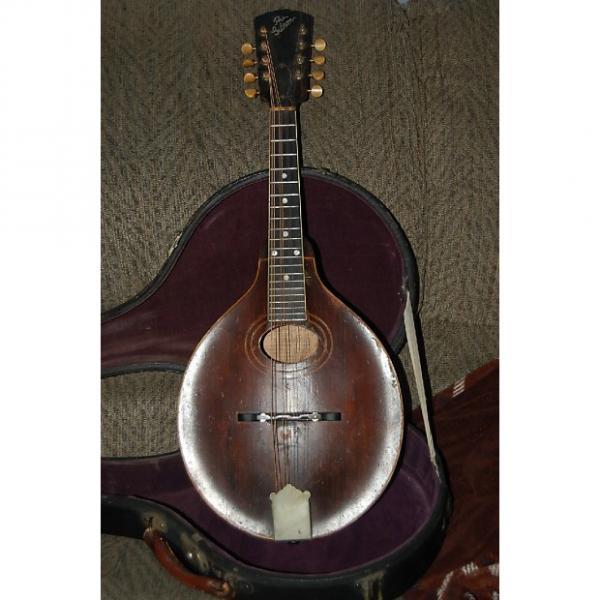 Custom Gibson A2 Mandolin 1922 brown, with truss-rod #1 image