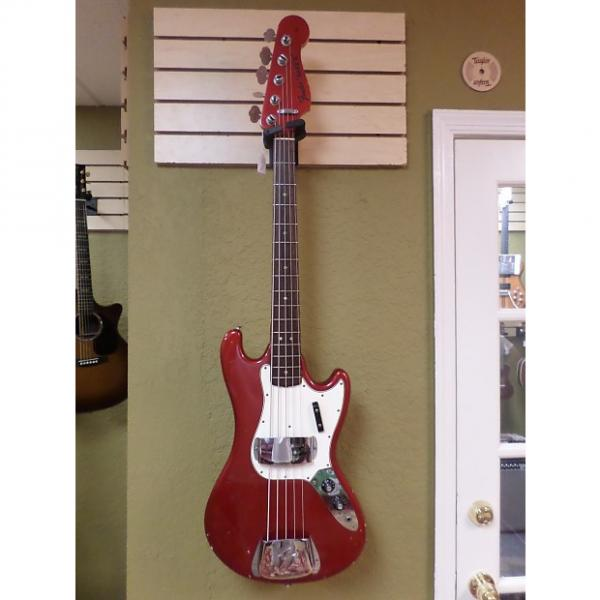 Custom Fender Bass V Vintage 1965 Candy Apple Red #1 image