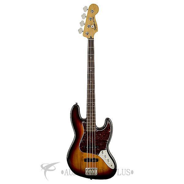 Custom Squier Vintage Modified Jazz Rosewood Fingerboard Electric Bass Guitar 3-Color Sunburst #1 image