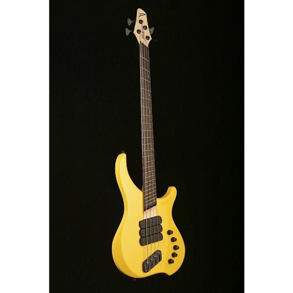 Custom Dingwall Afterburner I 4 string, 3x, Ferrari Yellow #1 image